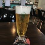 カメレオン食堂 - 生ビールはハートランド