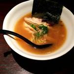 ラーメン肉酒場たいが - 名古屋コーチンらーめん(しょうゆ) ¥370