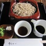 竹やぶ - 田舎そば  ¥1.000 税別