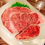 琥珀屋 - 料理写真:米沢牛のリブロースとシャトーブリアン