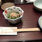 天ぷら ひさご - ほうれん草のおひたし