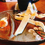 食ゆりは - 長崎産エイヒレ炙り(520円)