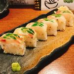 食ゆりは - 真鯛の棒寿司(780円)