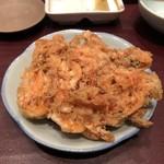 天ぷら ひさご - 桜海老のかき揚げ