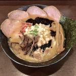 らーめんキラリボシ - 濃厚醤油ラーメン¥850+チャーシュー¥200