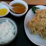 中国料理藤 - 料理写真:から揚げ定食