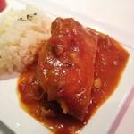 オザミ・デ・ヴァン - 鶏もも肉のトマト煮バスク風