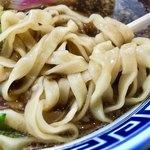 製麺屋慶史 麺ショップ 西月隈 - 麺の感じ