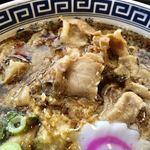 製麺屋慶史 麺ショップ 西月隈 - 肉の感じ