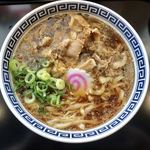 製麺屋慶史 麺ショップ 西月隈 - 肉らーめん、ネギトッピング