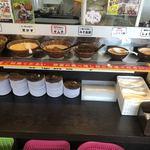 製麺屋慶史 麺ショップ 西月隈 - トッピングカウンター
