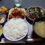 たんぽぽ食堂 - F定食 780円