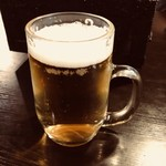 しちりん焼肉 だい - 生ビール