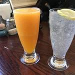 どりあん - オレンジジュースとレモンスカッシュ