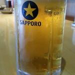 なまはげや - ドリンク写真:ほろ酔いセット500円から生ビールは黒ラベル通常500円
