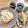 与喜饂飩 - 料理写真:ざる&海老天・海蘊天