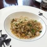 SESSION - 大量の海老の入った香り豊かな炒飯
