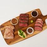 3種類のお肉をそれぞれのお肉に合わせた調理法で盛り合わせました!