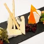 チーズのバリエ