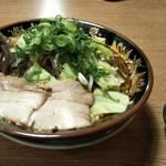 元祖 博多中洲屋台ラーメン 一竜 - やさい味噌トンコツラーメン