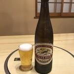 鶴べ別館 - キリンラガービール   (大瓶)       ¥648(税込価格)