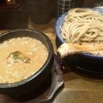 濃厚つけ麺 荒波屋 - 乱切りチャーシュー増しつけ麺