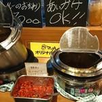 カレー食堂 マッハ - ル~はかけ放題♪(´ω`)