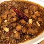 マサラキッチン - ラムキーマ+ひよこ豆マサラビーンズ