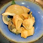 徳多和良 - 白ばい貝煮物