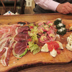 Il Sol Levante - 冷たい前菜各種を3人前用に盛り合わせて下さったものです。