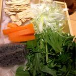 八かく庵 - 野菜