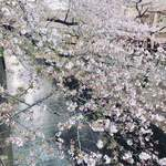 天のや - 目黒川の桜人多すぎ(汗)