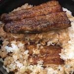 うなぎの甚八 - ご飯の中の鰻「まむし」