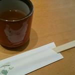 なかやしき - 蕎麦湯