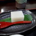 遊里庵 - 牡丹もりそば(900円) 蕎麦寒天