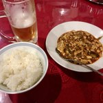 Tenfuen - 夜セット(麻婆豆腐、ライス)