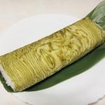 毘沙門寿司 - 料理写真:焼さば棒寿し・とろろ昆布巻。954円