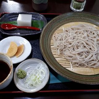 遊里庵 - 料理写真:牡丹もりそば(900円)