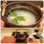 鮨 そえ島 - ◆蛤(千葉)の土瓶蒸し。 貝特有の雑味がなく、旨みだけを感じ美味しいこと。
