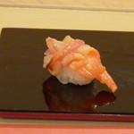鮨 そえ島 - ◆赤貝・・ヒモも一緒に頂きます。これもいい味わい。