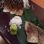 九州 熱中屋 - 炙り〆サバ(厚切り)