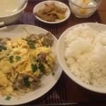 miyamahanten - 牛肉と玉子炒め