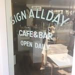 SIGN ALLDAY -