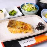 やくしま - 太刀魚柚庵焼定食