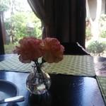 83433514 - 喫茶室のテーブル席