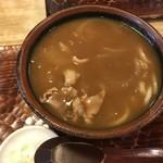 芝その更科 - カレー南蛮(¥700円)