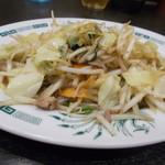 日高屋 - 野菜炒め