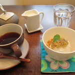 Cafe 5884 - 小金井桜ブレンド、玄米ジェラート