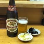 山家 - 瓶ビールのセット完了!