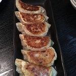 久香亭 - ファミリーコース 焼き餃子